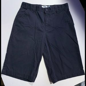 Old Navy SZ 14 Boys adjustable Navy Shorts uniform
